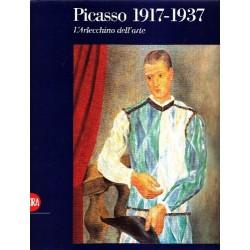 Picasso 1917 1937 L' Arlecchino dell'arte