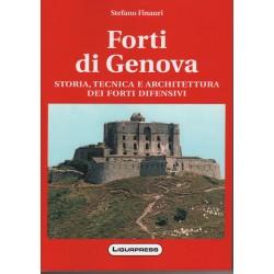 Forti di Genova, Storia tecnica e architettura dei forti difensivi