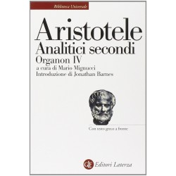 Aristotele Analitici secondi