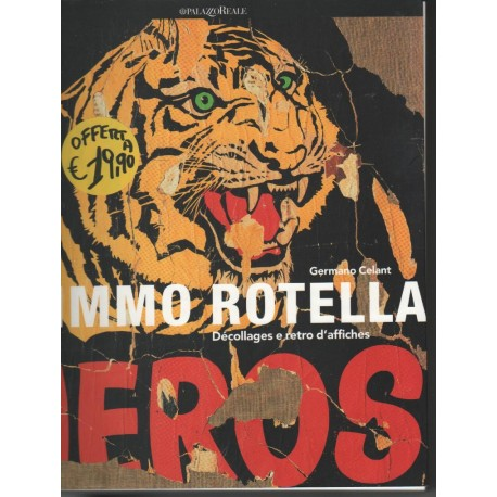 Mimmo Rotella, Décollages e retro d' affiches