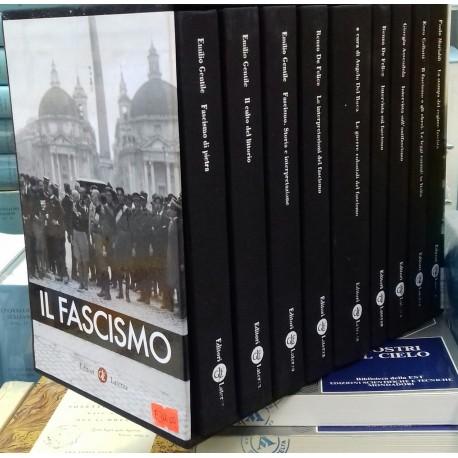 Il Fascismo, cofanetto 9 volumi opera completa