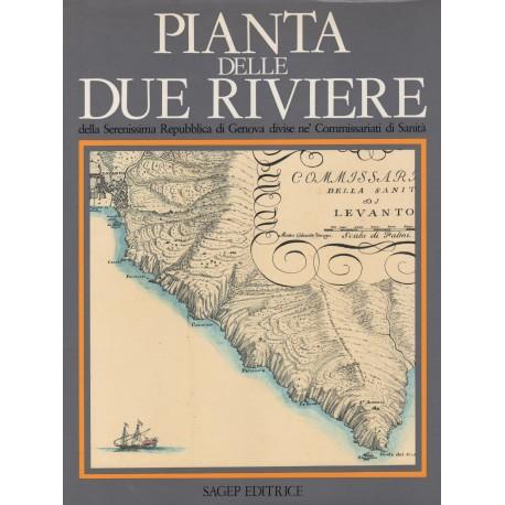 Matteo Vinzoni Pianta delle Due Riviere della Serenissima Repubblica di Genova divisa nei Commissariati di Sanita