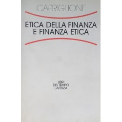 Etica della finanza e finanza etica