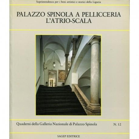 Palazzo Spinola a Pellicceria l' atrio-scala