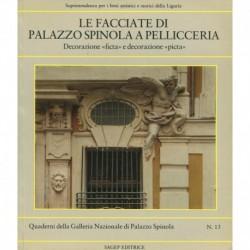 Le facciate di palazzo Spinola a Pellicceria